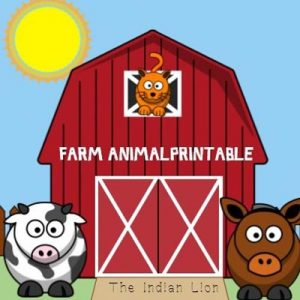 Farm Animal printable
